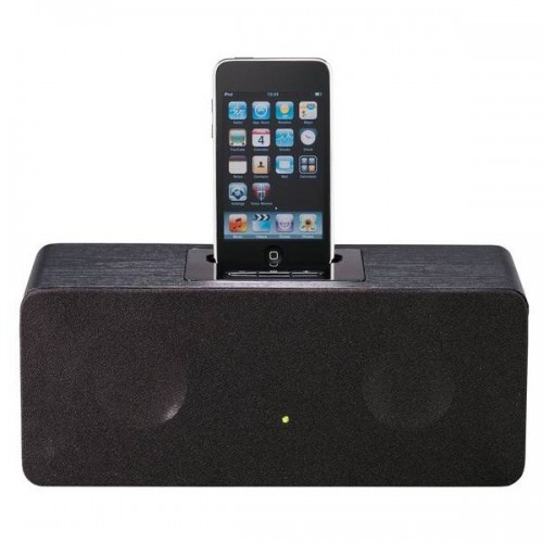 iwant iph1212 iphone ipod docking station black. Black Bedroom Furniture Sets. Home Design Ideas