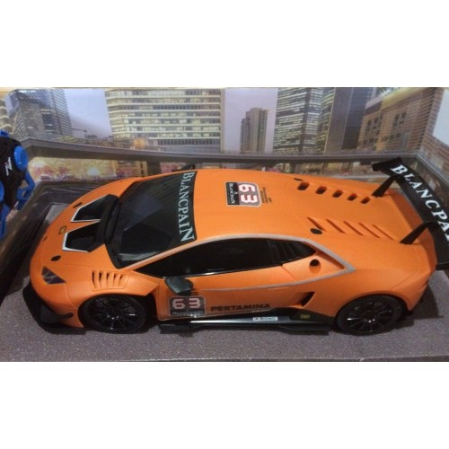 lamborghini huracan orange 1 10 scale radio remote control toy. Black Bedroom Furniture Sets. Home Design Ideas