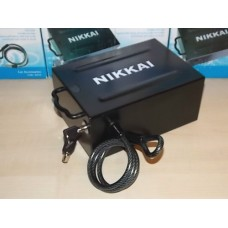 Nikkai Portable Car Safe with 2 Keys and wire loop for Security