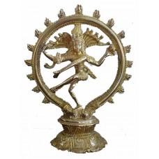 Shiva Natraja Nataraja Brass Hindu Statue