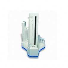 Nintendo Wii All in one Cooling Stand  Docking Station  and Charger